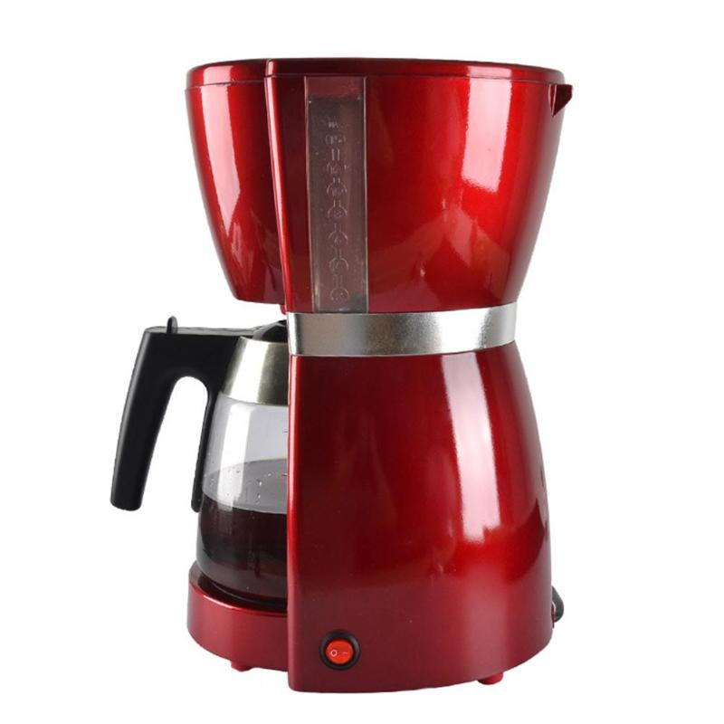 Automatic Electric Drip Coffee Maker Household Coffee Machine tea coffee pot Coffee maker Machine EU Plug electric 120w coffee machine espresso americano coffee maker for household with 1 pcs coffee pot tea machine