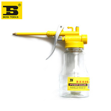 Free shipping BOSI Transparent high pressure machine oil can