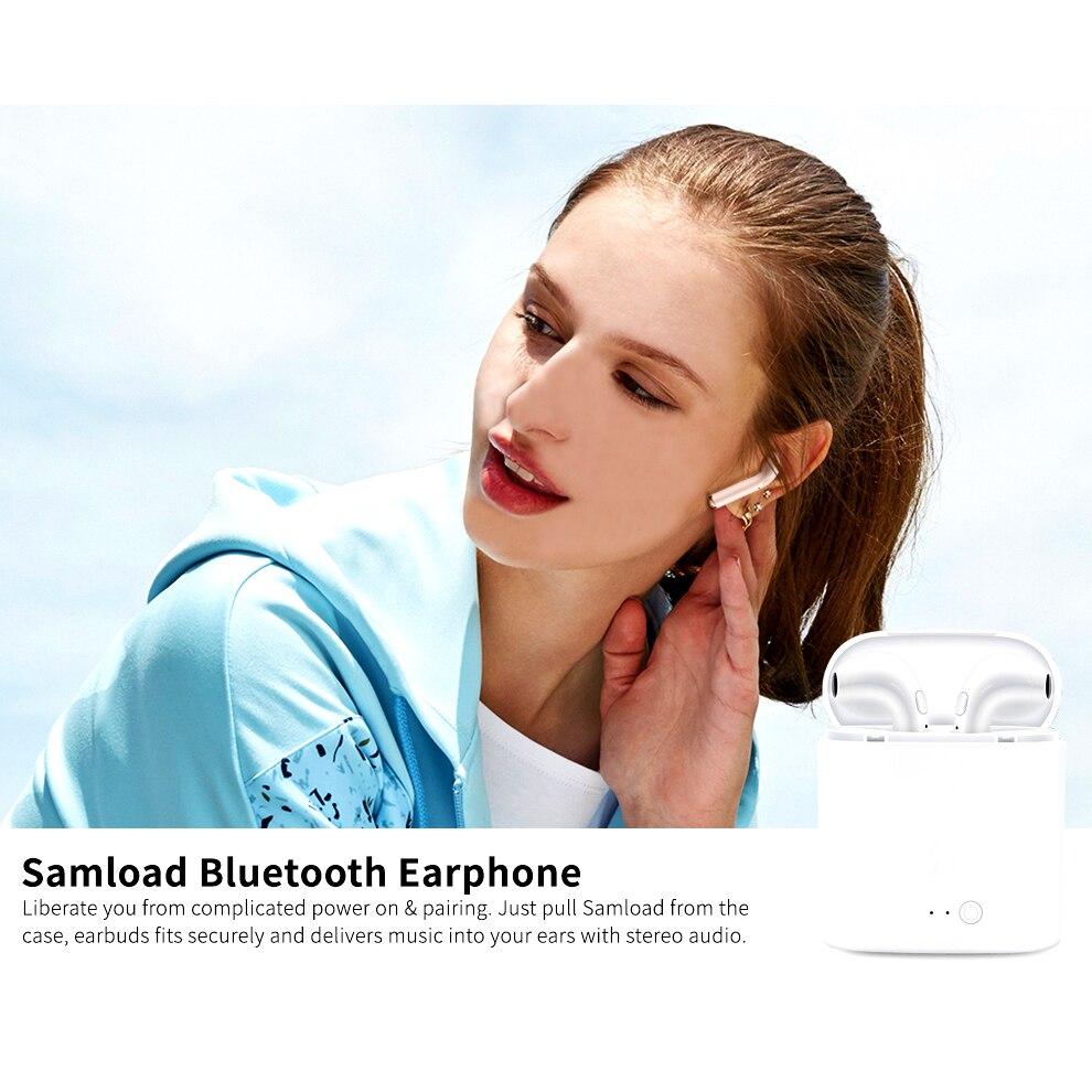 i7 earphone Wireles Earphone TWS Mini Bluetooth V4.2 Earbuds Stereo Headset For Apple iPhone Samsung Xiaomi Huawei Head Phone