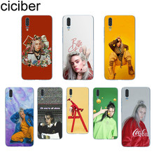 ciciber Billie Eilish For Huawei P20 P10 P9 P8 Pro Plus Lite 2017 P smart 2019 Soft TPU Silicone Clear Phone Cases Fundas Coque
