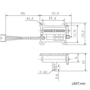 Image 5 - 2 teile/los Micro 1,5g Linear Servo Tiny Servo 4,2 6 V für Flugzeug RC DIYmall