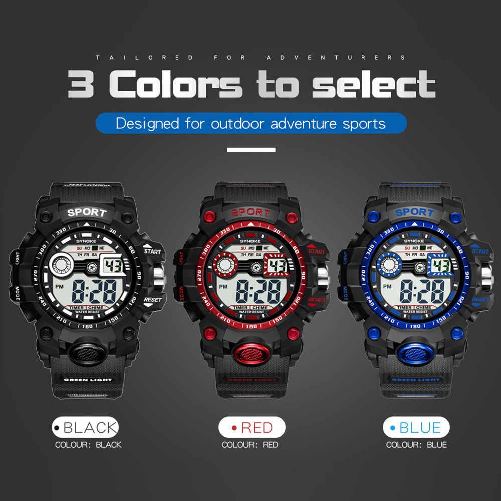 Men's Watch Sports Smart Watch Brand Fashion Pedometer Remote Camera Calories Bluetooth Smartwatch Reminder Digital Watches