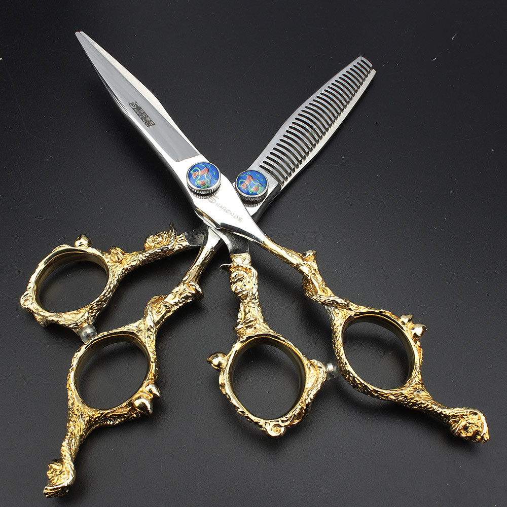 6 Inch High Quality Hair Scissors Set Professional Haircutting