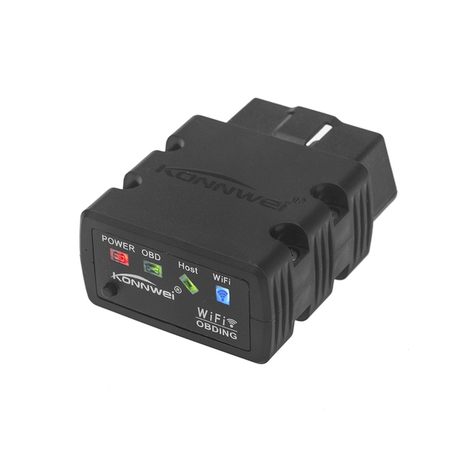 KONNWEI Car OBD2 ELM327 WIFI obdii Automotive fault diagnostic OBD2 ELM 327 Apparatus For iOS iphone Android CY500-CN