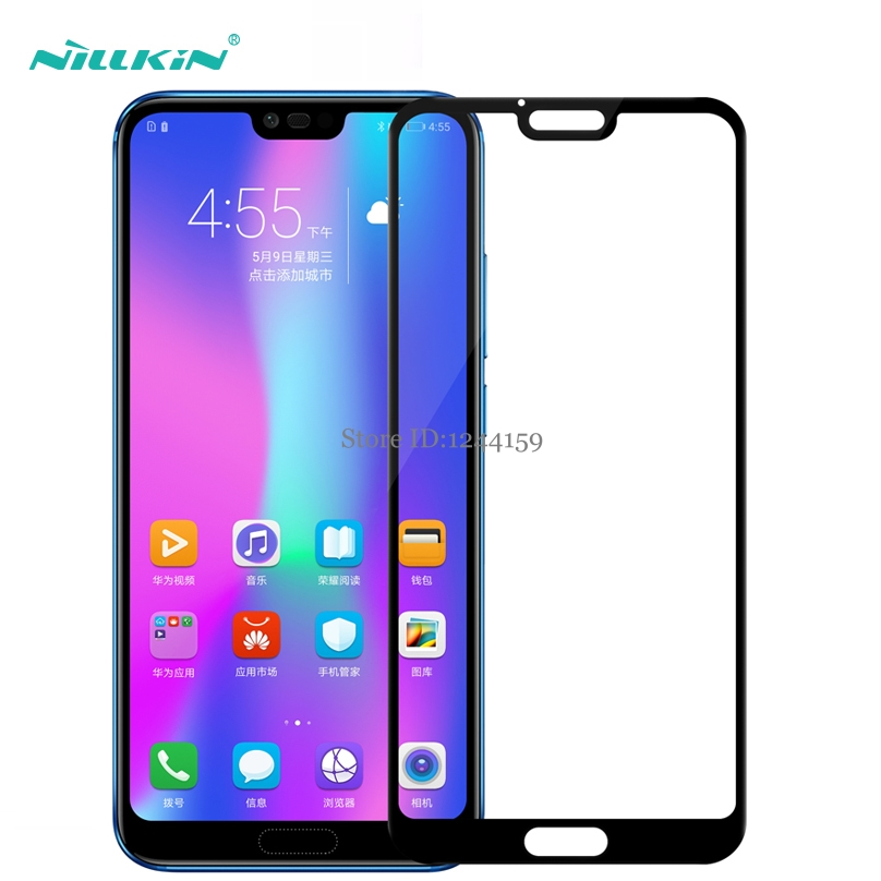 For Huawei Honor 10 Tempered Glass Nillkin CP+ Full Cover Screen Protector For Huawei Honor 10 Protective Glass 5.84 Inch