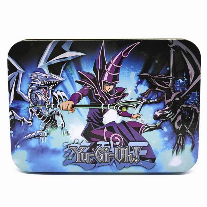 Party Card Game Yugioh Cards Egyptian God Collectible Toys English version Original packaging metal box Legendary Board Cards image