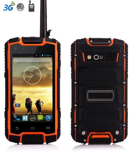Original Dg1 Ip68 Rugged Waterproof Phone Android Shockproof Small Smartphone Mtk6582 Quad Core Gps Uhf Radio