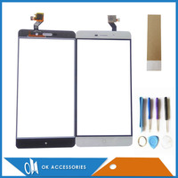High Quality White Color For Elephone P9000 P900E P9000 Lite Touch Screen Digitizer Panel With Tools