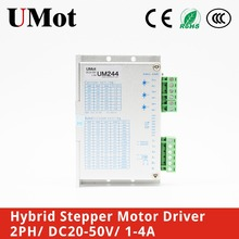 Free Shipping Stepper Motor Driver 2phase Nema 23 Nema17 1-4.2A DC20-50V Stepper Motor For CNC 3D printer free shipping 1pcs stepper motor 4 lead nema17 48mm 78oz in 1 8a 17hs8401 motor with tb6600 stepper motor driver nema23 17