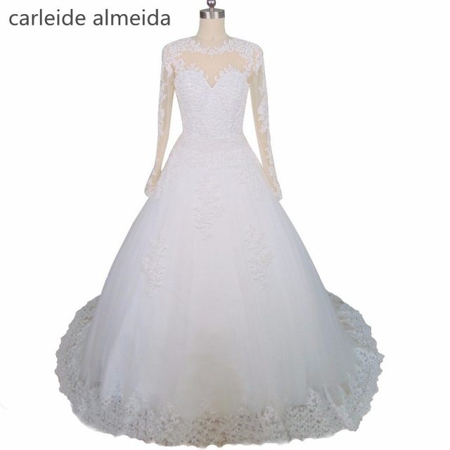 Online Shop Vestido De Noiva 2 In 1 Romantic Wedding Dress Pearls