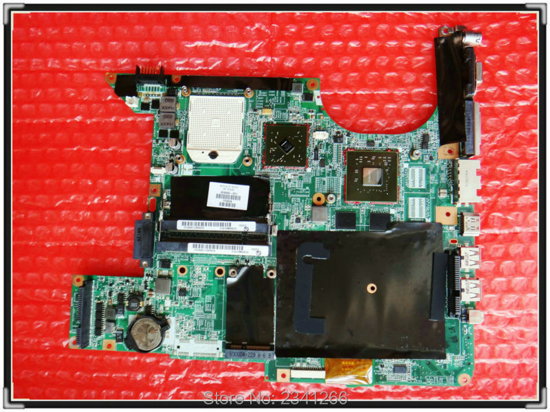 ФОТО 459566-001 for HP DV9000 DV9500 DV9700 DV9800 laptop motherboard for AMD PM Graphics:G86-730-A2 100% Tested and good working