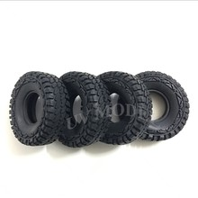 "4 stks RC 1.9 ""Rock Wielbanden Tyre 114mm Beadlock Wiel Band For1: 10 RC Truck Crawler AXIALE SCX10 Tamiya CC01 F350(China)"