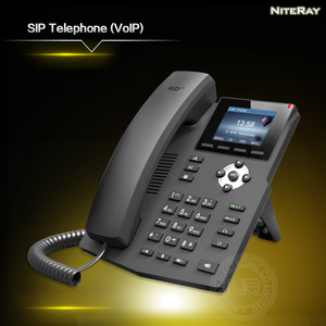 Image 5 - SIP telephone multimedia video sip phone call center telephone new design desk corded VoIP phone