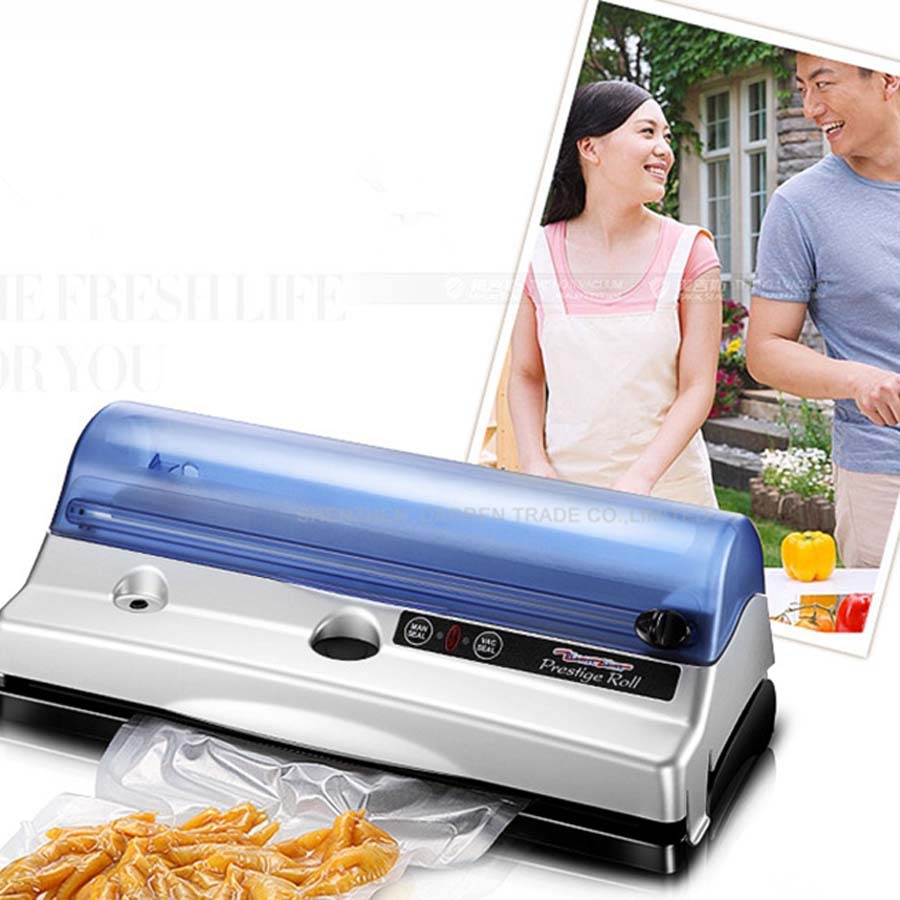 Electric Vacuum Heat Sealing Machine Household Food Packing Sealers Home food vacuum sealer machine bag seal machine цена 2017
