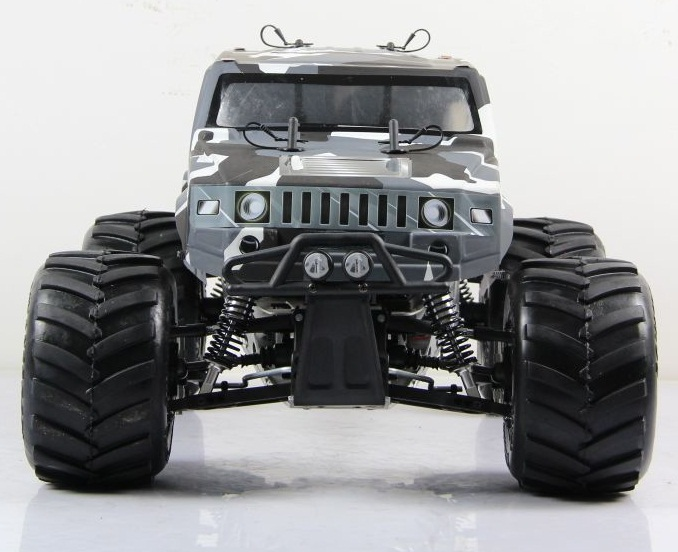 Rovan 1/5 Truck Bigfoot Hummer BM305 CAR Big Monster 4WD 30.5cc Gasoline Powerful Engine 1/5 Rc Car 1 6 rc alloy rear differential set 86002 for fg monster hummer truck rovan big monster