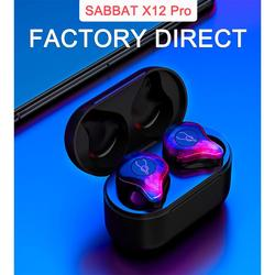 SABBAT X12pro Wireless Bluetooth 5.0 Bilateral Call In-ear Sports Headset Earphone