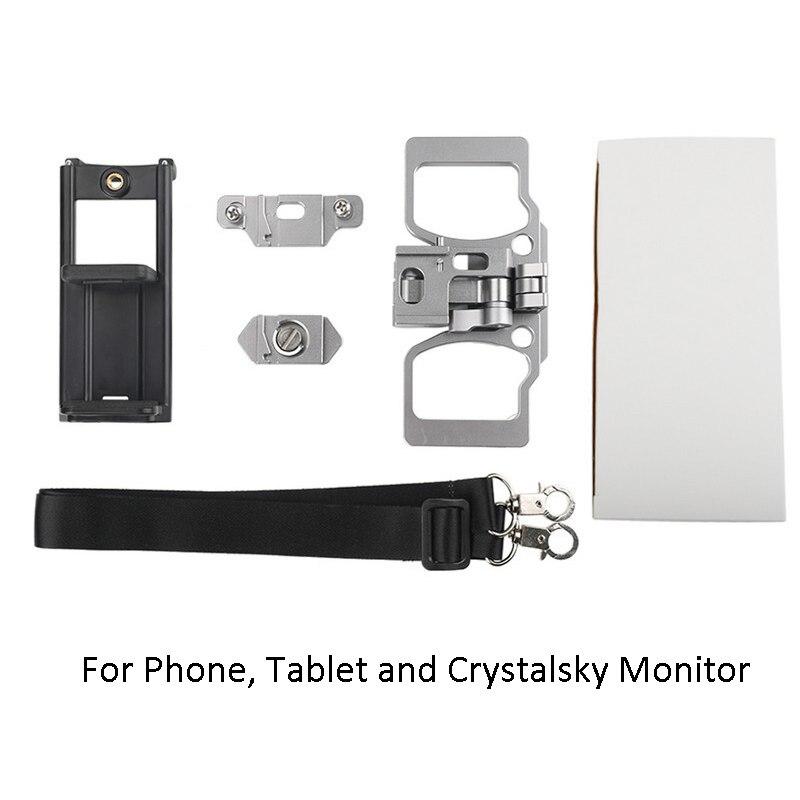 Drone Controller Supporto Del Metallo Crystalsky di Montaggio Per DJI Mavic Min 2/1 Pro Remote Controller Staffa Del Telefono Tablet Monitor Clip - 6