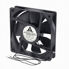 Gdstime 1 piece EC Fan 120mm 12cm 120x120x25mm AC 110V 120V 220V 240V 3W Brushless Cooling