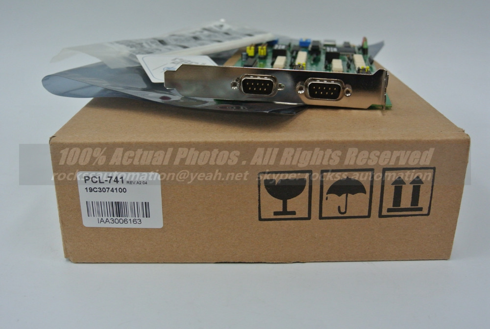 Brand New PCL-741 With Free DHL / EMS dhl ems brand new for sch neider telemecanique new xck j10511h29c limit switch plc free ship