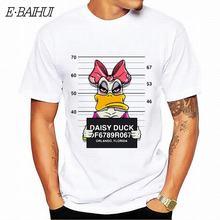 6da59f33559acf0 E-BAIHUI Новые Микки печати футболки мыши Футболка Мужская топы в стиле  хип-хоп