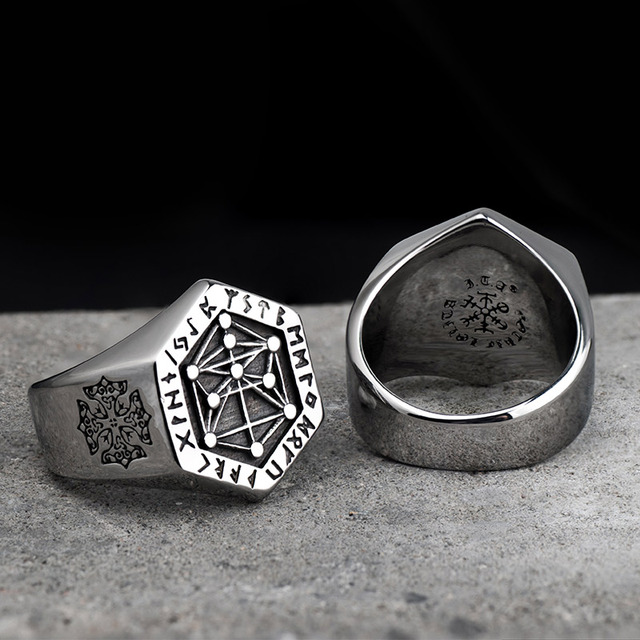 Nordic Mythologic Viking Ring 4