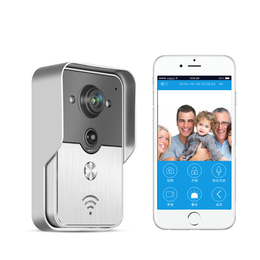 Wireless WIFI Version Video Door Phone Mobile Remote Control Access Control System bw wireless wifi door