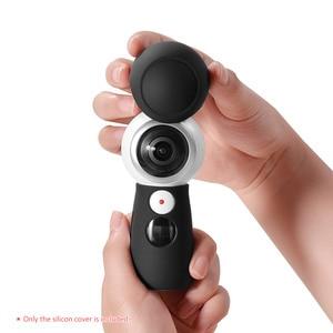 Image 5 - حافظة بغطاء من السيليكون لحماية غطاء الجلد لجهاز سامسونج جير 360 إصدار 2017 كاميرا بانورامية