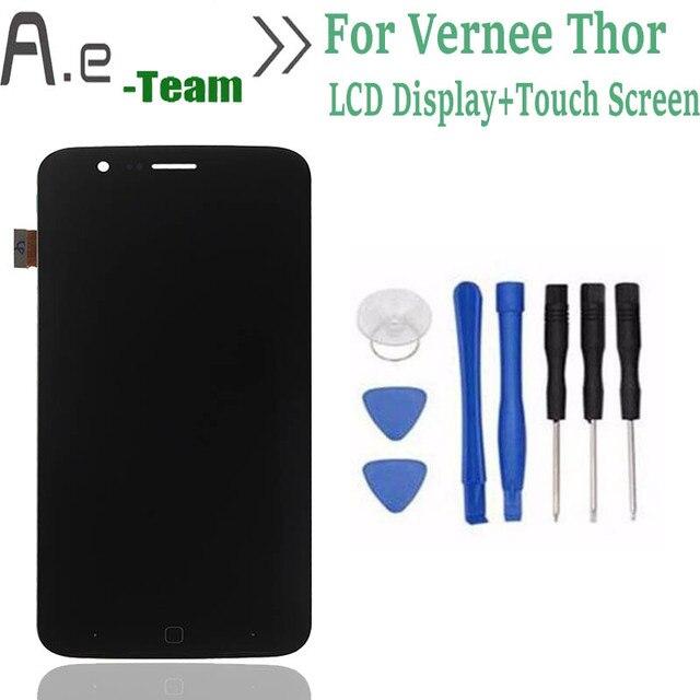 """De alta Calidad Para Vernee Pantalla LCD + Touch Screen Reemplazo Digitalizador Para Vernee thor thor 5.0 """"SmartPhone + Envío herramientas"""