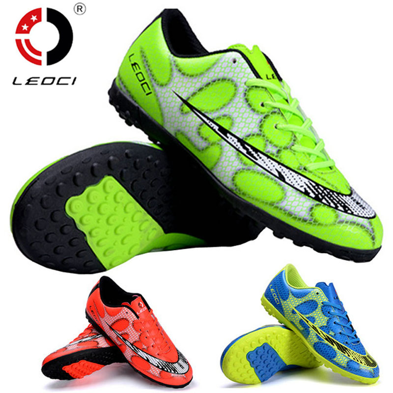 Soccer Shoes Boots Men Women chuteira futebol indoor Soccer Cleats Football Boots For Adult & Kids scarpe da calcio size:33-44 tiebao soccer sport shoes football training shoes slip resistant broken nail professional sports soccer shoes