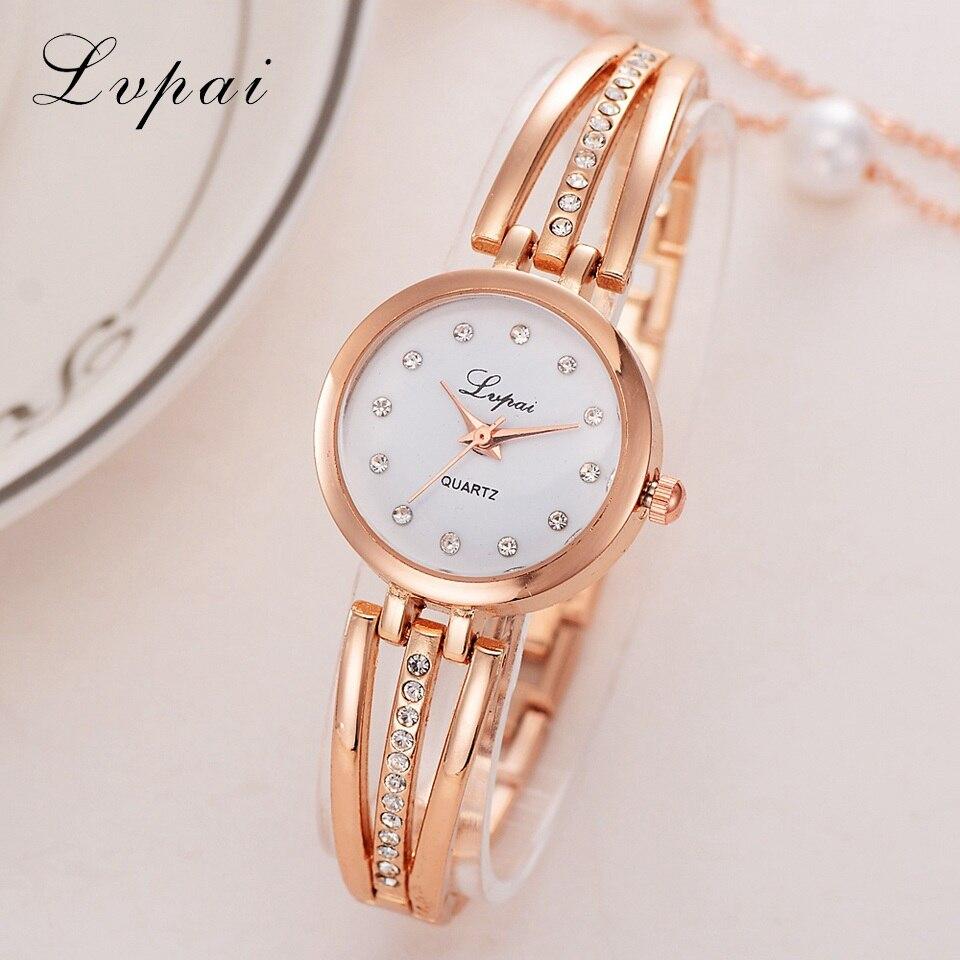 Watches Have An Inquiring Mind Lvpai 2018 Luxury Women Watch New Fashion Brand Women Ladies Bracelet Montre Watch Female Quartz Wrist Watch Bayan Kol Saati 30
