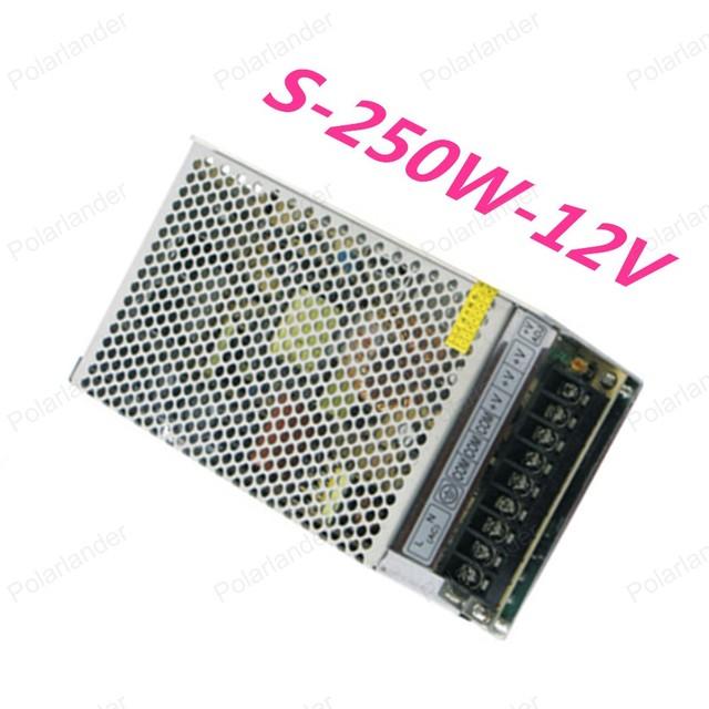 250 W 12 V 20A 110 V-220 V Iluminación Transformadores de alta calidad safy Conductor para la tira del LED suministro