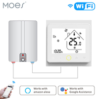 Smart WiFi Water and Gas Boiler Thermostat Temperature Controller Works with Alexa Echo Google Home Tuya