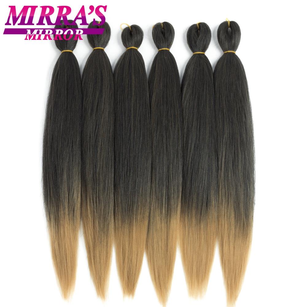 Mirra's Mirror Easy Jumbo Braids Hair 20