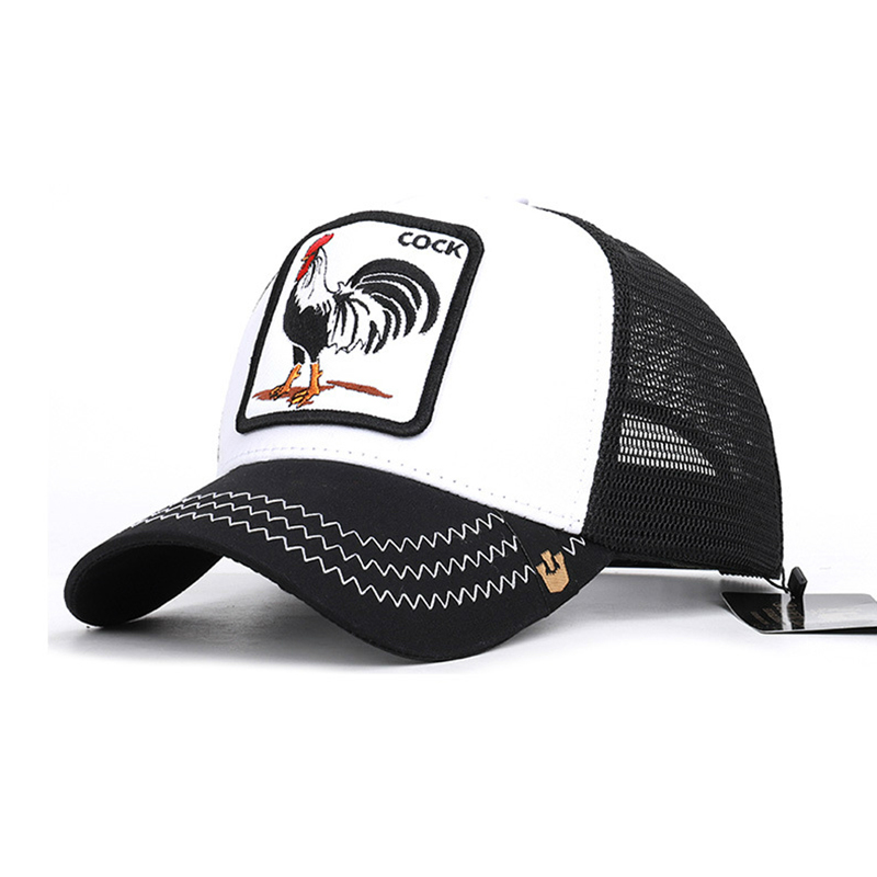 Quality Animal Cock Hat Summer   Baseball     Cap   Men Women Mesh Breathable 3 Choose 1pcs Drop Shipping