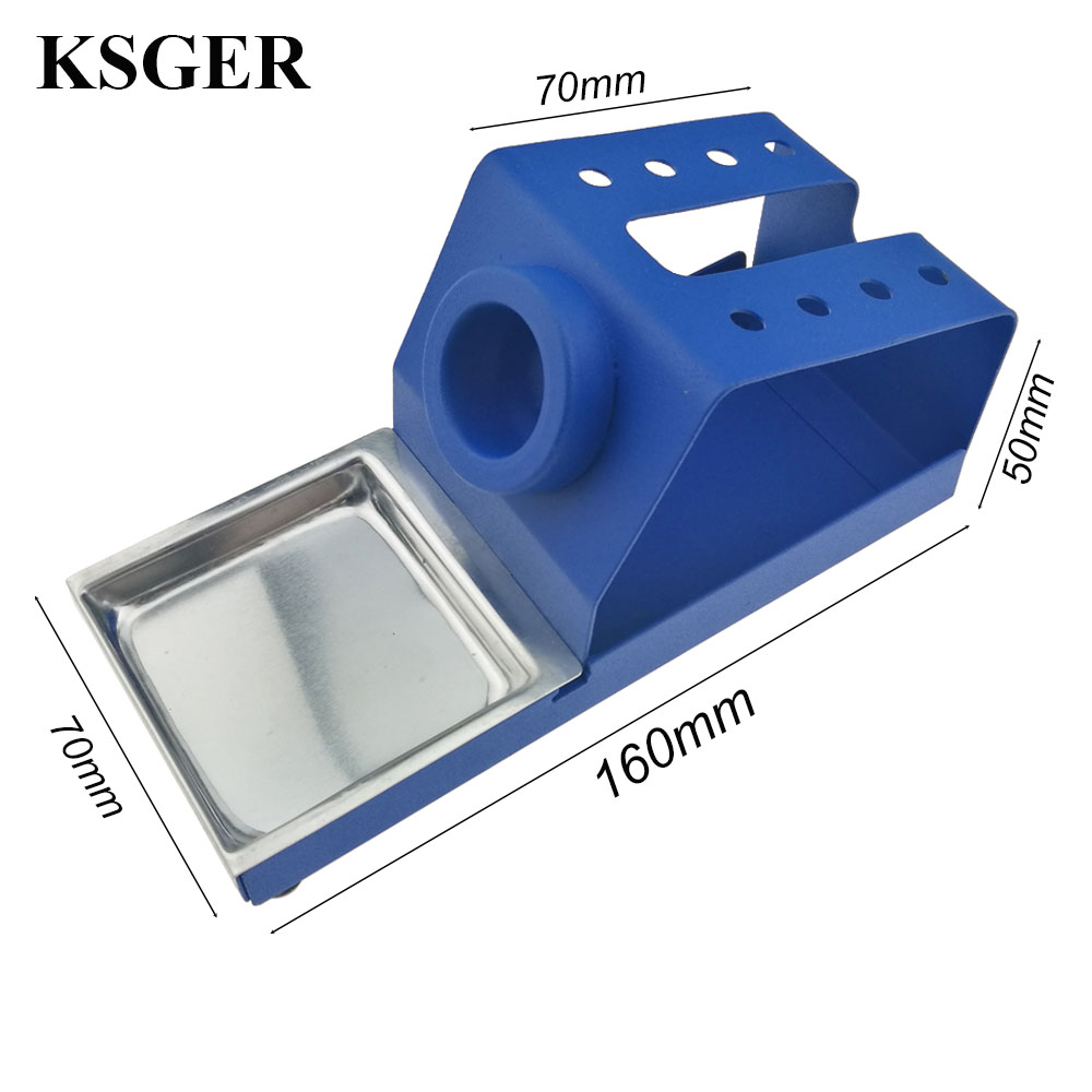 Image 2 - KSGER  DIY T12 Holder Soldering Iron OLED Station Stand FX9501 Handle Welding Iron Tips STC STM32 Aluminum Alloy ToolsElectric Soldering Irons   - AliExpress