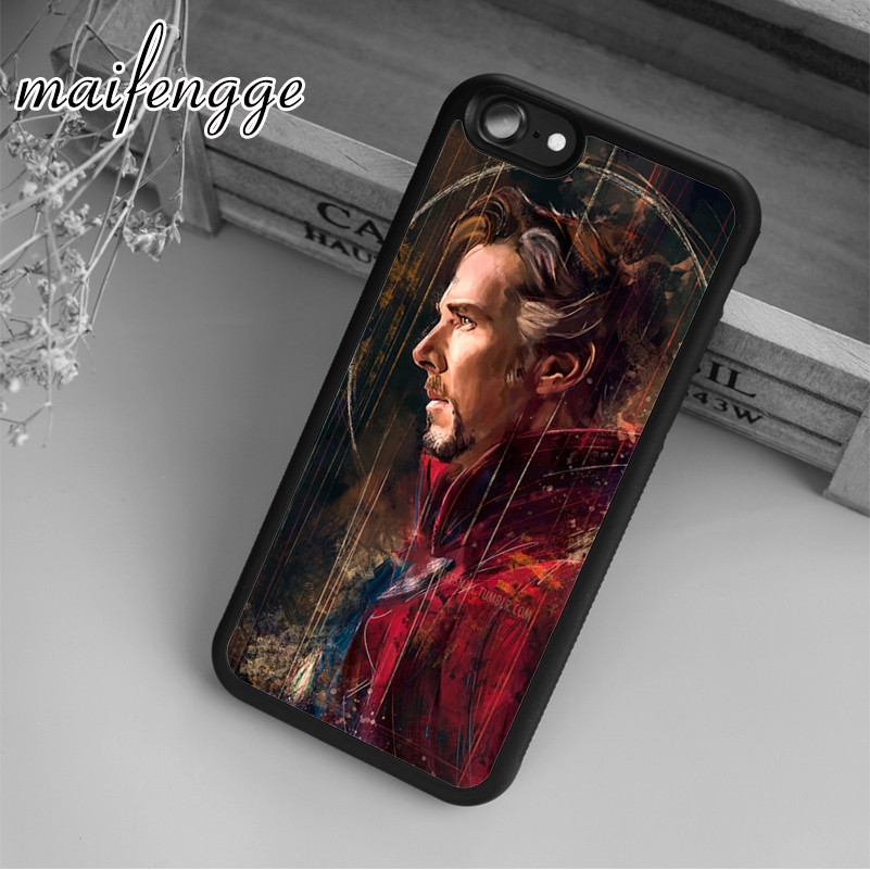 Phone Bags & Cases Cellphones & Telecommunications Maifengge Doctor_strange_by Case For Iphone 6 6s 7 8 Plus X 5 5s Se Case Cover For Samsung S5 S6 S7 Edge S8 Plus Shell Removing Obstruction