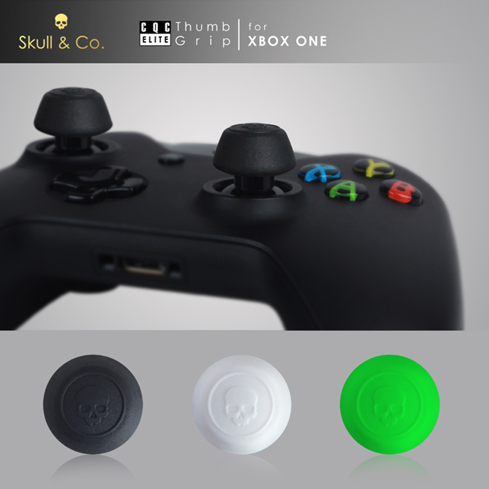Skull & Co. Thumb Grip Joystick Cap CQC Elite Thumbstick Cover for Xbox One Controller sniper elite 3 игра для xbox one