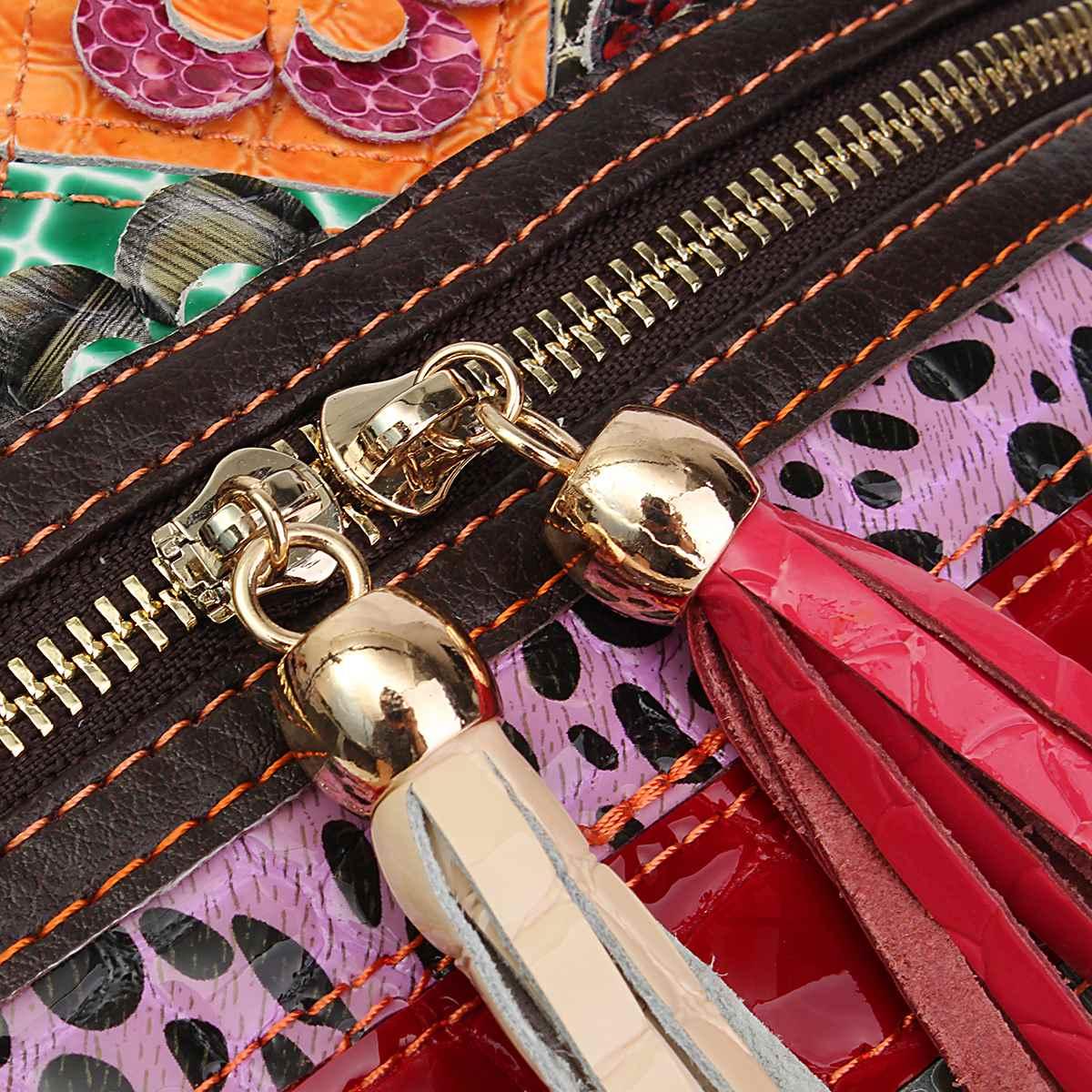 aequeen bolsa sacolas de mulheres Bag Estilo 3 : Ladies' Genuine Leather Handbag