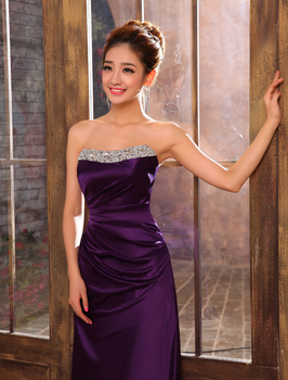 s 2016 new arrival stock maternity plus size bridal gown  evening dress purple blue pink green long sexy LN1213