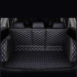 Image 2 - Коврик для багажника автомобиля kalaisike под заказ для Mercedes Benz все модели C ML GLA GLE GL CLA R A B GLS GLC класс автомобильные аксессуары Стайлинг