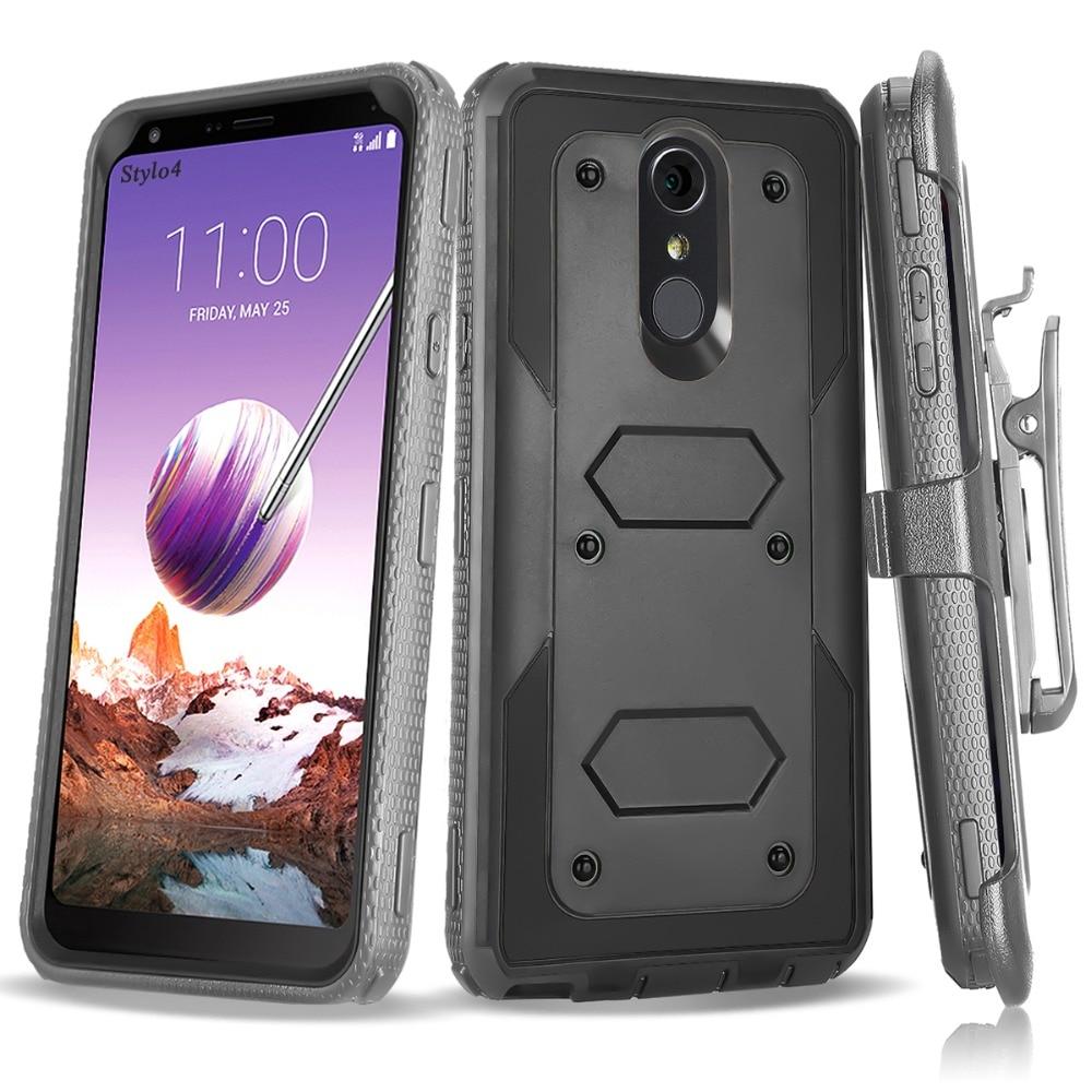 Robot Armor Case For LG G5 Stylo 2 3 4 Plus K10 V20 V30 X Style