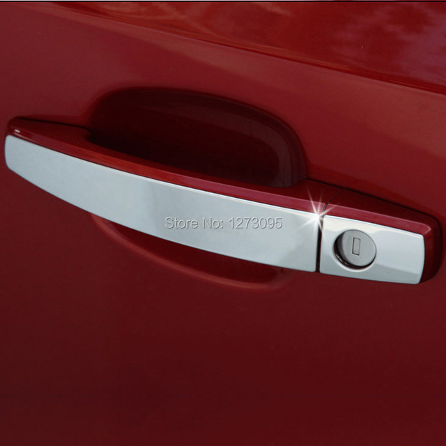 For 2010 to 2014 Vauxhall Opel Astra J Stainless Steel Side Door Handle Cover Protector Sticker & For 2010 to 2014 Vauxhall Opel Astra J Stainless Steel Side Door ...