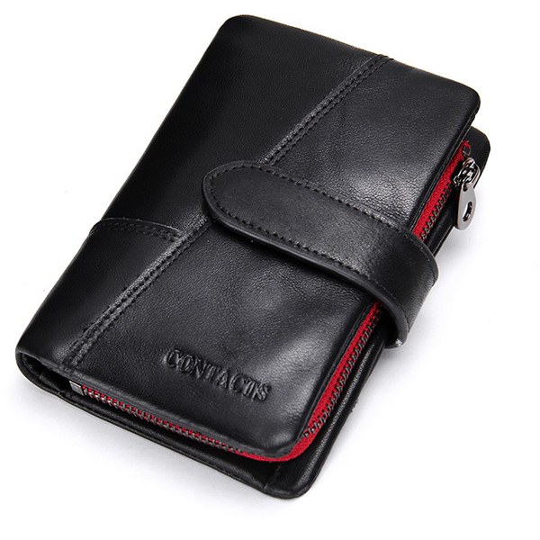 New Luxury Brand 100% Top Genuine Cowhide Leather Men Wallet Vintage Coin Purse Crazy Horse Male Carteira Wallets new luxury brand 100% top genuine cowhide leather high quality men long wallet coin purse vintage designer male carteira wallets