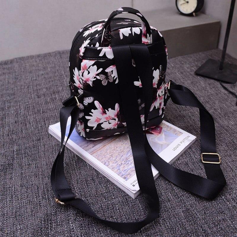 feminina mochila de viagem mochilas Bag Depth : 120mm