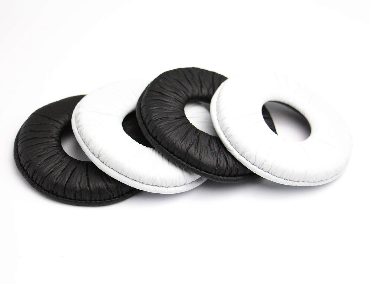 Лучшая цена 70 мм Общая Замена амбушюры подушечки для Sony MDR-ZX100 ZX300 V150 V300 гарнитура амбушюры