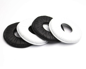 Image 1 - Best price 70MM General Replacement Ear Pad Cushion Earpads for Sony MDR ZX100 ZX300 V150 V300 Headset earpads
