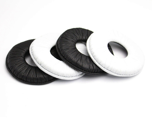 Best price 70MM General Replacement Ear Pad Cushion Earpads for Sony MDR ZX100 ZX300 V150 V300 Headset earpads