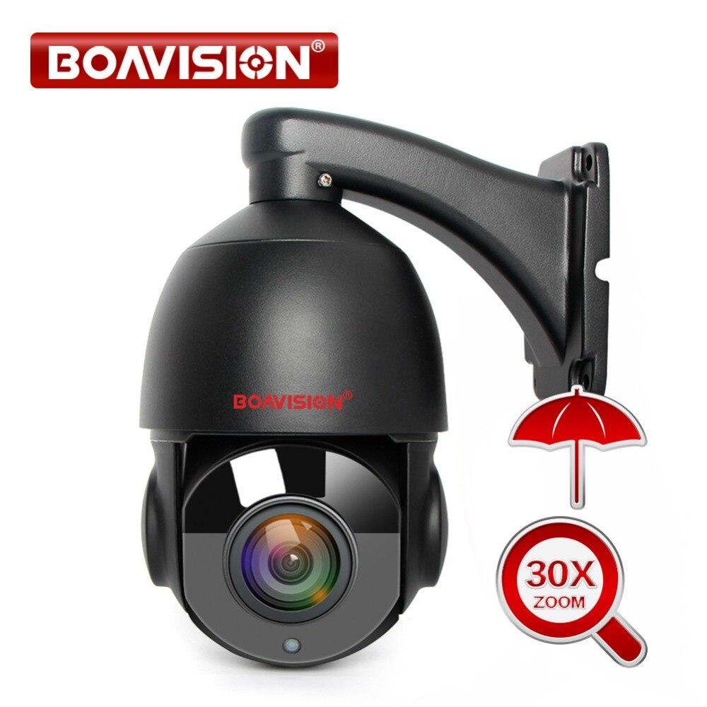 30X Zoom HD 1080P PTZ IP Câmera Ao Ar Livre IR 50M 2MP 4MP 5MP Mini Câmera Speed Dome PTZ câmeras de Segurança CCTV à prova d' água Onvif P2P