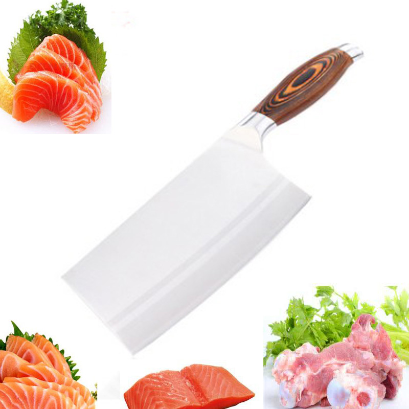LDZ 9Cr15MoV Stainless Steel Kitcchen Chef Knife Sharp Japanese Kitchen Knives Meat Fruit Vegetable Cuter Cleaver Cooking Tools