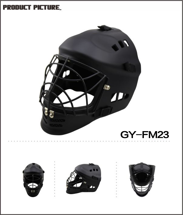 2018 Professional Hero goalkeeper kids helmet goalie casque with ABS outer shell light full cover style for floorball goalie mask hockey goalie helmet for goalikeeper free shipping